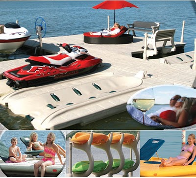 Wave Armor Floating Dock Systems