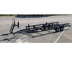 20-22 ft Tandem Axle Pontoon Trailer 4030 lbs capacity 13in Tires