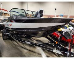 175 Competitor Sport With 115 HP Honda and Trailer