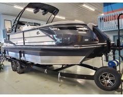 25' SURF BOSS 2.0 With 450 HP PCM Motor and Custom Trailer