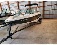 175 BR With 3.0L Mercruiser and Trailer