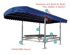 3000lb Pontoon Lift Only, LSV30120BP Assembled, CALL for Unassembled Price