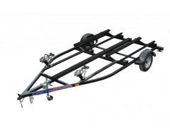 Dual Place Steel PWC Trailer