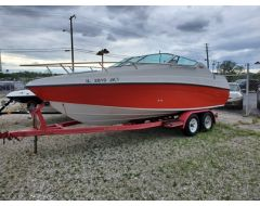 210 CCR W/ 5.7L Mercruiser And Trailer
